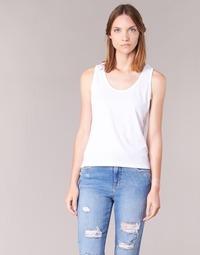 textil Dame Toppe / T-shirts uden ærmer BOTD EDEBALA Hvid