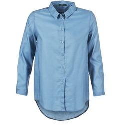 textil Dame Skjorter / Skjortebluser School Rag CHELSY Blå