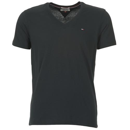 textil Herre T-shirts m. korte ærmer Tommy Jeans MALATO Sort