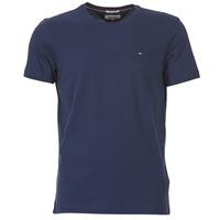 textil Herre T-shirts m. korte ærmer Tommy Jeans OFLEKI Marineblå