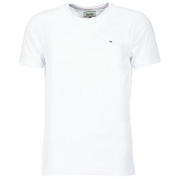 textil Herre T-shirts m. korte ærmer Tommy Jeans OFLEKI Hvid