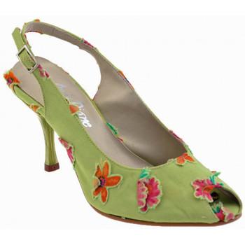 Sko Dame Højhælede sko Onde Piane  Grøn
