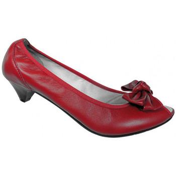 Sko Dame Højhælede sko Keys  Rød