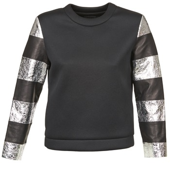 textil Dame Sweatshirts American Retro DOROTHY Sort / Sølv