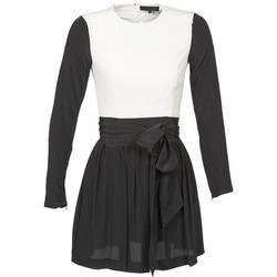 textil Dame Korte kjoler American Retro STANLEY Sort / Hvid