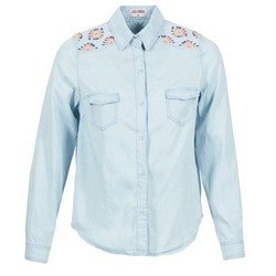 textil Dame Skjorter / Skjortebluser Yurban EGUATOULE Blå / LYS