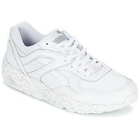 Sko Herre Lave sneakers Puma R698 SPECKLE Hvid / Sølv