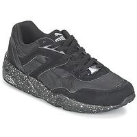 Sko Herre Lave sneakers Puma R698 SPECKLE V2 Sort / Sølv
