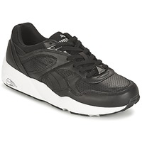 Sko Herre Lave sneakers Puma R698 CORE LEATHER Sort