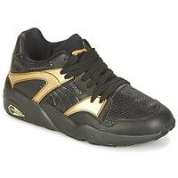 Sko Dame Lave sneakers Puma BLAZE GOLD WN'S Sort / Guld