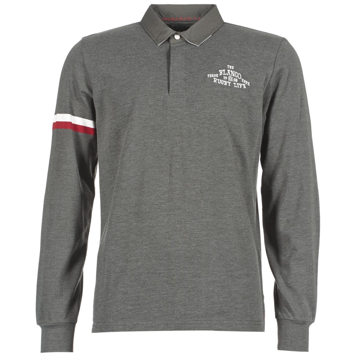 Polo-t-shirts m. lange ærmer Serge Blanco  BIG BALLON RUGBY
