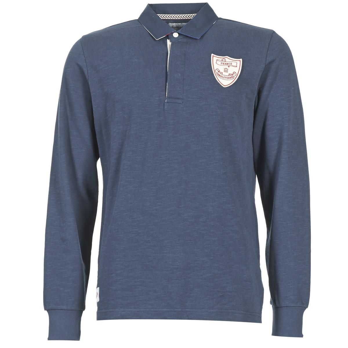 Polo-t-shirts m. lange ærmer Serge Blanco  CRUNCH