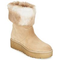 Sko Dame Støvler Nome Footwear MOVETTA Beige