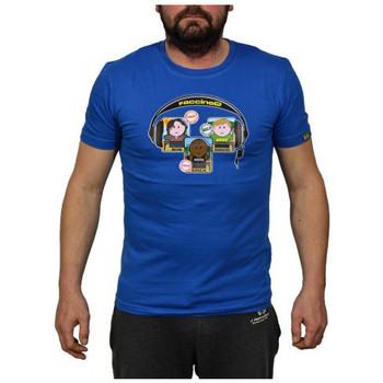 textil Herre T-shirts m. korte ærmer Faccine