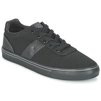 Sko Herre Lave sneakers Ralph Lauren HANFORD-NE Sort