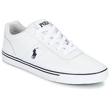 Sko Herre Lave sneakers Polo Ralph Lauren HANFORD Hvid