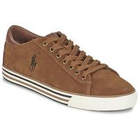 Sko Herre Lave sneakers Ralph Lauren HARVEY COGNAC