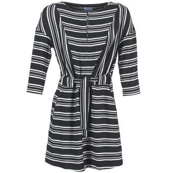 textil Dame Korte kjoler Loreak Mendian PILI Sort / Hvid