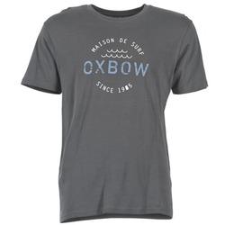 textil Herre T-shirts m. korte ærmer Oxbow TANKER Grå