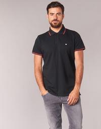 textil Herre Polo-t-shirts m. korte ærmer Casual Attitude EPIDIN Sort