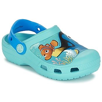Sko Børn Træsko Crocs CC DORY CLOG Blå