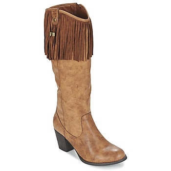 Sko Dame Chikke støvler Refresh TRITOU Kamel