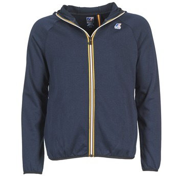 textil Herre Sweatshirts K-Way VICTOR FLEECE Marineblå