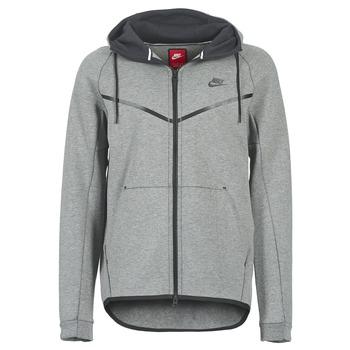 textil Herre Jakker Nike TECH FLEECE WINDRUNNER HOODIE Grå