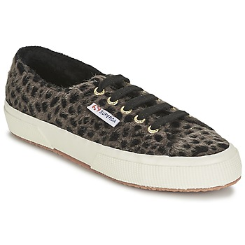 Sko Dame Lave sneakers Superga 2750 LEOPARDHORSEW Leopard