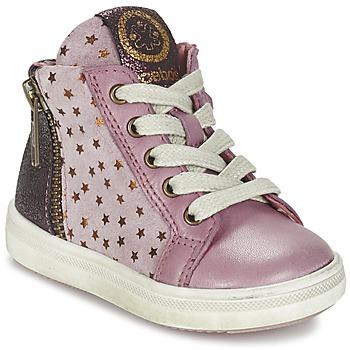Sko Pige Høje sneakers Acebo's MARLIE Pink