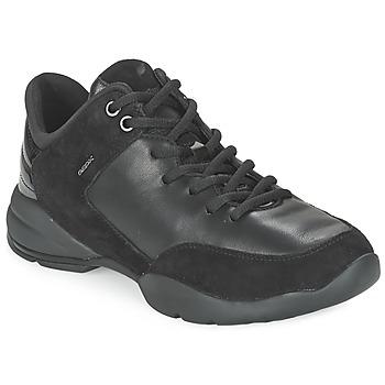 Sko Dame Lave sneakers Geox SFINGE A Sort