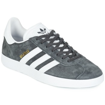 Sko Lave sneakers adidas Originals GAZELLE Grå / Mørk