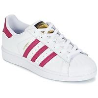 Sko Pige Lave sneakers adidas Originals SUPERSTAR FOUNDATIO Hvid