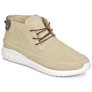 Sko Herre Høje sneakers Asfvlt YUMA Beige