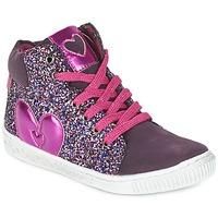 Sko Pige Høje sneakers Agatha Ruiz de la Prada BUSOULI Violet