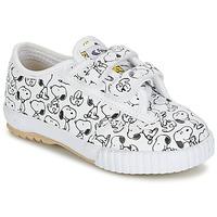 Sko Børn Lave sneakers Feiyue FE LO SNOOPY EC Hvid