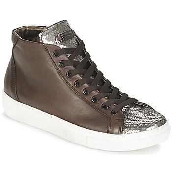 Sko Dame Høje sneakers Tosca Blu ALEXA Brun / Sølv