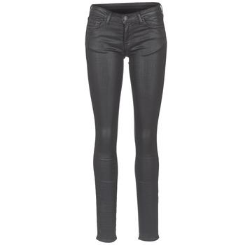 textil Dame Smalle jeans Cimarron ROSIE DENM WAX Sort / Olie