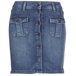 textil Dame Nederdele Pepe jeans SCARLETT Blå