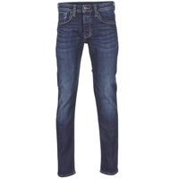 textil Herre Lige jeans Pepe jeans CASH Z45 / Blå / Mørk