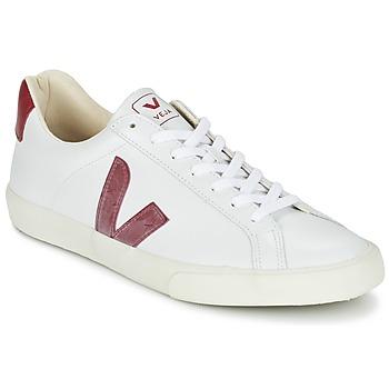 Sko Lave sneakers Veja ESPLAR Hvid / Rød