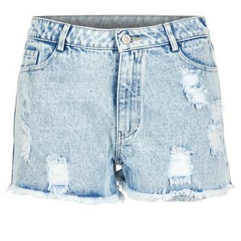 textil Dame Shorts Yurban EVANUXE Blå / Lys