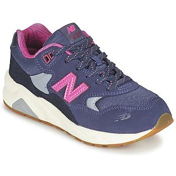 Sko Pige Lave sneakers New Balance KL580 Violet / Pink