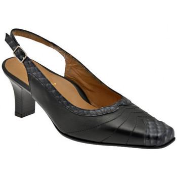 Sko Dame Højhælede sko Bettina  Sort