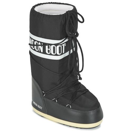 Sko Vinterstøvler Moon Boot MOON BOOT NYLON Sort