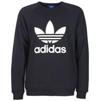 textil Herre Sweatshirts adidas Originals TREFOIL CREW Sort