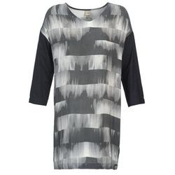 textil Dame Korte kjoler Bench CRISP Sort / Grå