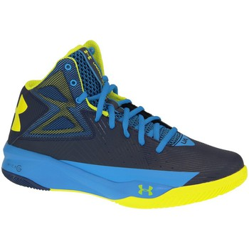 Sko Herre Basketstøvler Under Armour Rocket Basketball 1264224-410 Blue,Yellow