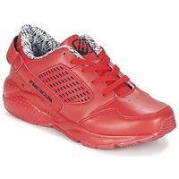 Sko Dreng Lave sneakers Freegun FADSA Rød