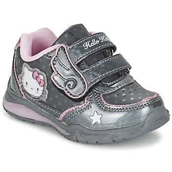 Sko Pige Lave sneakers Hello Kitty FANELY LIGHT Grå